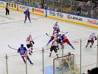 New York Rangers - Rangers contre Calgary Flames
