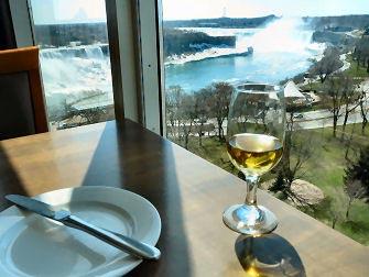 Niagara Falls en Avion - Dejeuner