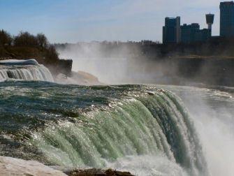 Niagara Falls en Avion du cote americain