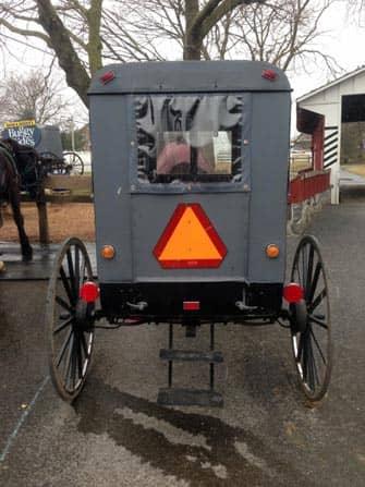 Philadelphia et Amish Country - Caleche