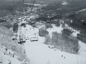 Ski ou Snowboard - Hunter Mountain