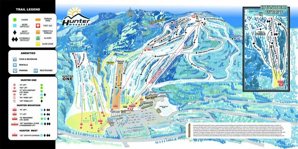 Ski ou Snowboard - Pistes
