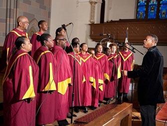 Visite Gospel NYC Choristes