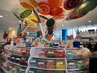 Visite Gossip Girl NYC - Dylans Candy Bar