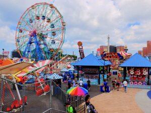 Coney Island à New York - Luna Park