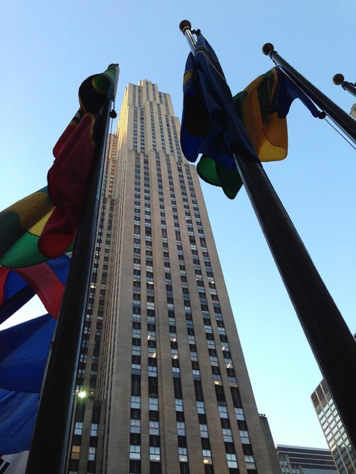 Rockefeller center new york for Top of the rock new york restaurant