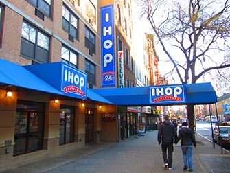 Cuisine typique des Etats-Unis à New York IHOP