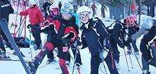 Excursion à la neige