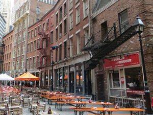 Restaurants Stone Street New York
