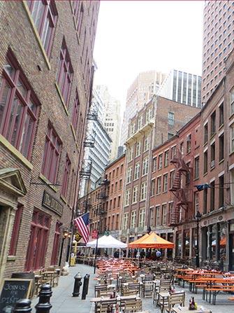 Stone Street NYC - Bars et Restaurants