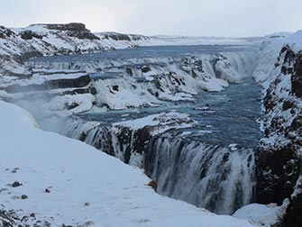 Escale en Islande - Cascade