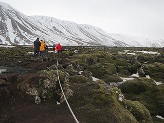 Escale en Islande - Formations de Lave