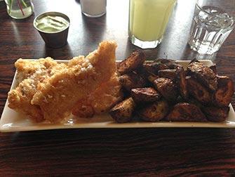 Escale en Islande - fish and chips islandais