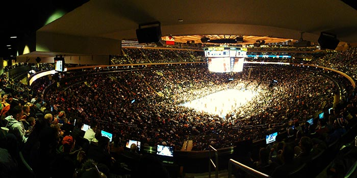 Madison Square Garden NYC - Interieur