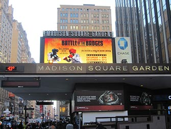 Madison Square Garden NYC - Panneau