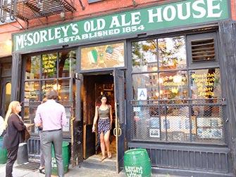 Bars clandestins à New York - McSorleys