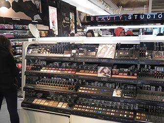Maquillage à New York - Sephora intérieur