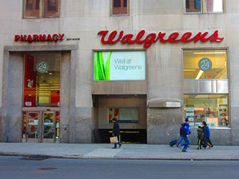 Maquillage à New York - Walgreens