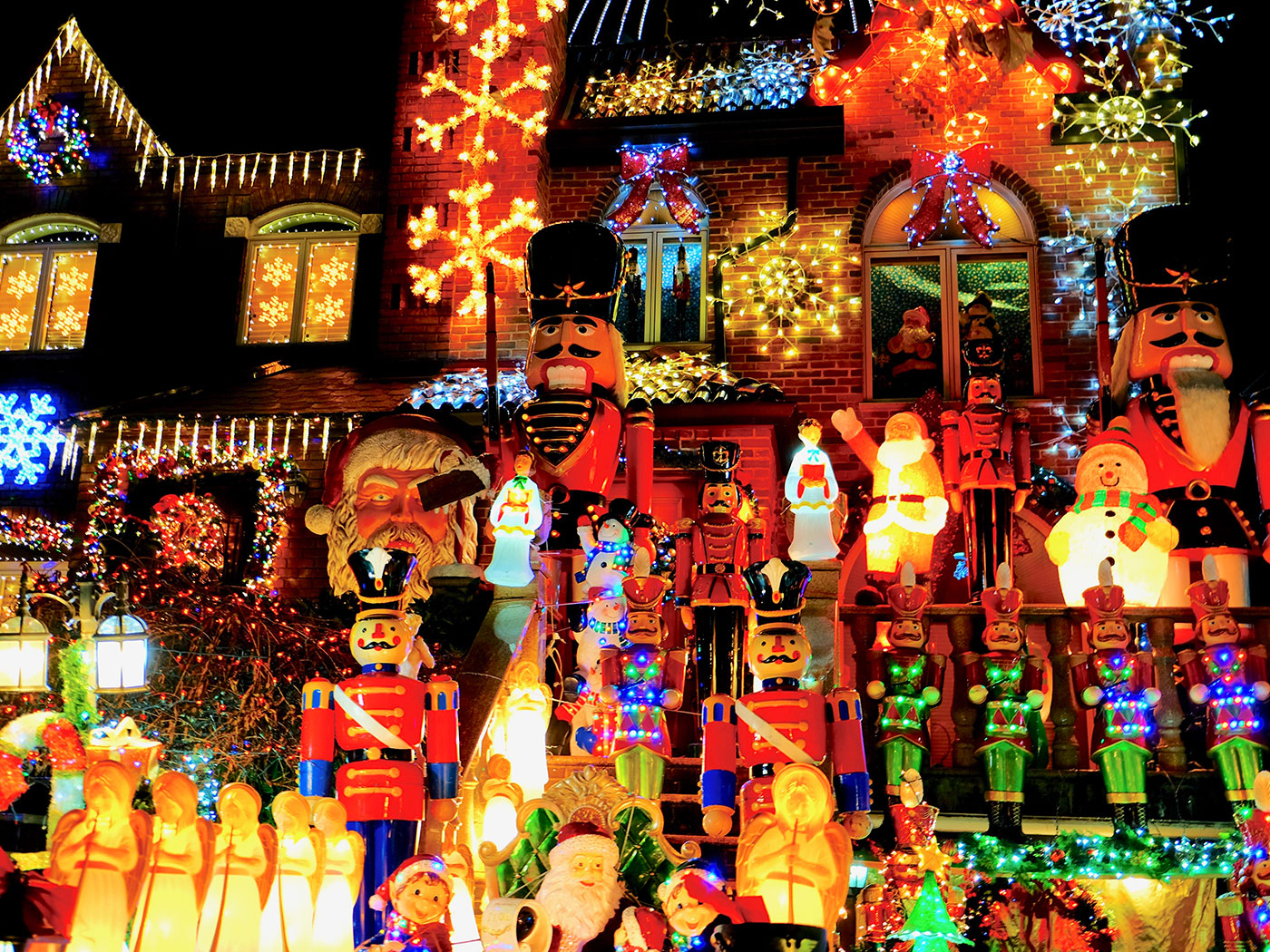 Dyker Heights Christmas Lights à New York - Figurines