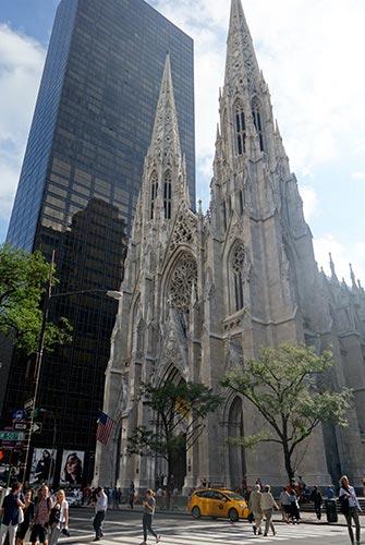 Cathédrale Saint Patrick à New York - Cathédrale sur la Fifth Avenue