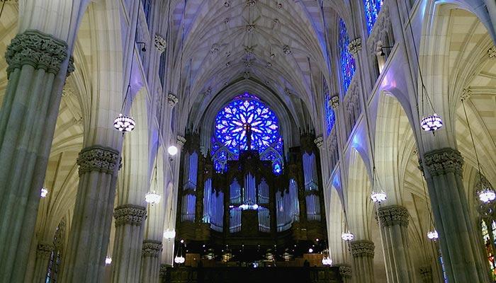 Cathédrale Saint Patrick à New York - Intérieur