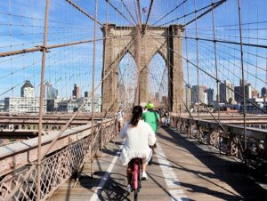 Location de vélos à New York - Pont de Brooklyn