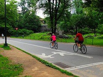 Location de vélos a New York - Faire du vélo dans Central Park