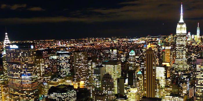 Visite nocturne de new york for Top of the rock new york restaurant