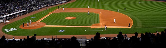 Match de baseball : New York Yankess