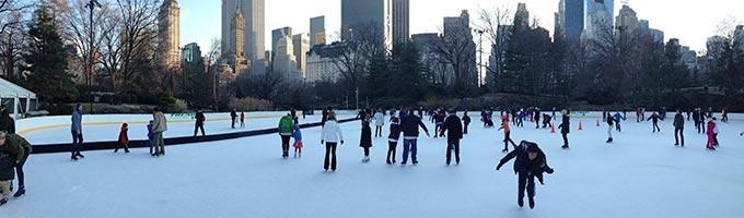 Les plus belles patinoires à New York