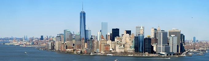 Découvrez New York depuis l'hélicoptère !