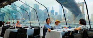 Bateaux Lunch Cruise à New York -Vue sur la skyline
