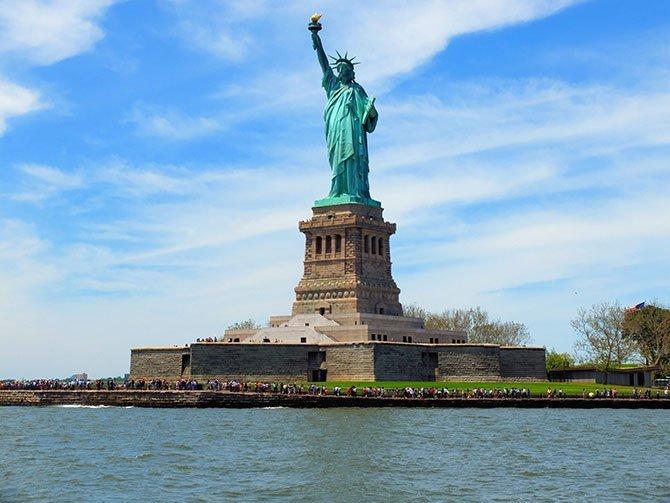 Bateaux Lunch Cruise à New York - Statue de la Liberté