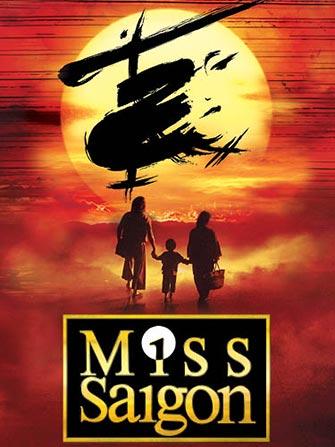 Billets pour Miss Saigon à Broadway - Affiche