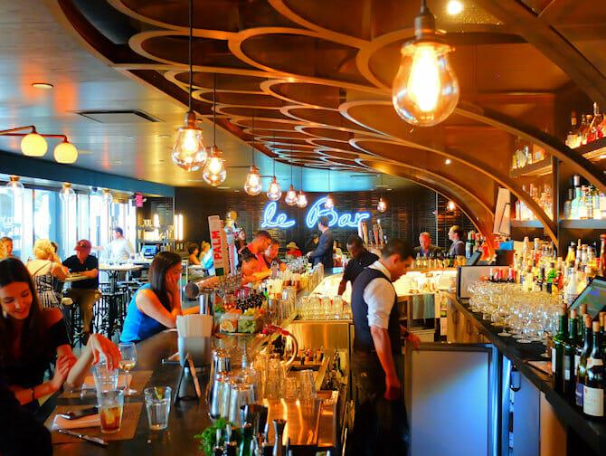 Le District à New York - Le Bar
