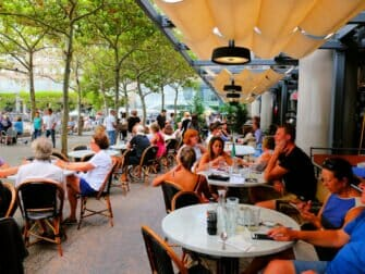 Le District à New York - Terrasse