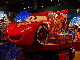 Disney Store de Times Square - Cars