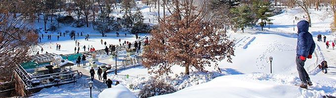 Les Stations de ski proches de New York