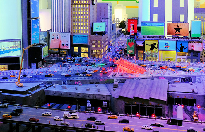 Gulliver's Gate Miniature World - Times Square