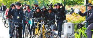 Visite guidée de Central Park à vélo avec guide français
