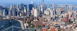 Vol en hélicoptère à habitacle ouvert à New York