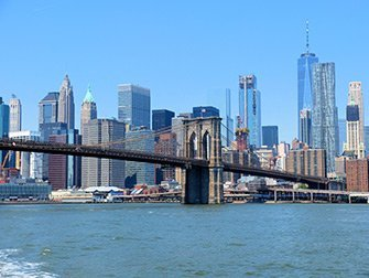 NYC Ferry à New York - Brooklyn Bridge