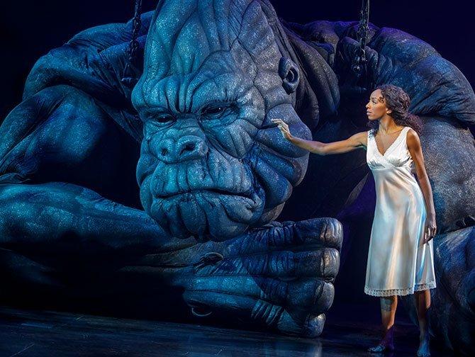 Billets pour King Kong the Musical à Broadway - King Kong et Ann