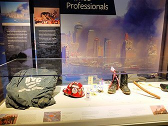 911 Tribute Museum à New York - objets personnels