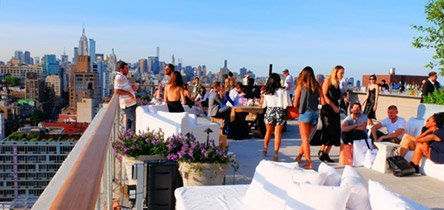 Les Rooftop Bars