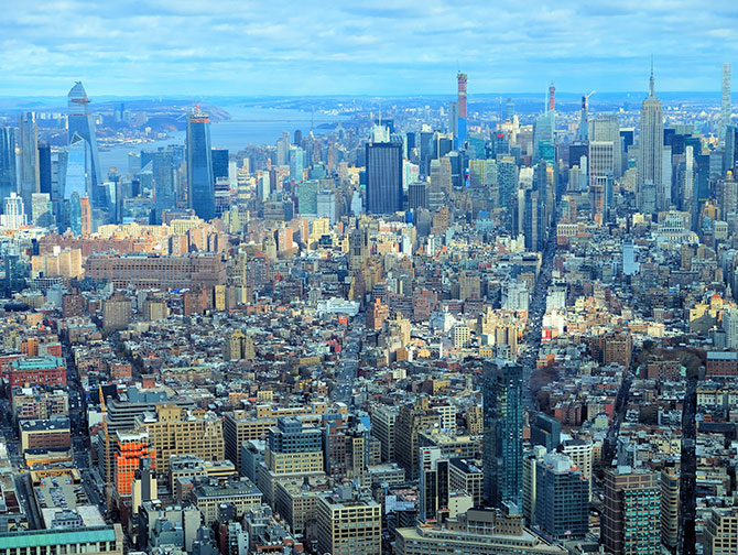 New York Sightseeing Day Pass - Vue depuis le One World Observatory