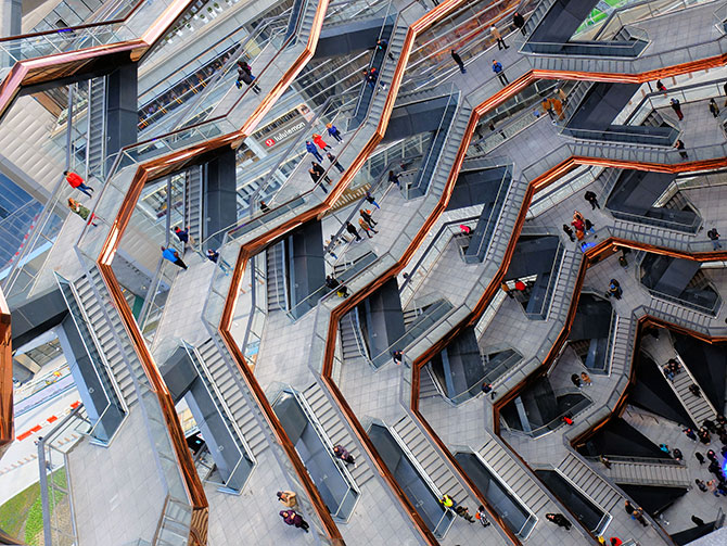 Hudson Yards Vessel à New York - Vessel structure