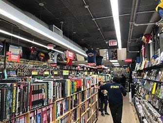Visite Super-héros à New York - Comic-Book Store
