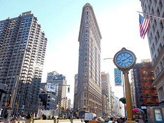 Visite Super-héros à New York - Flatiron Building