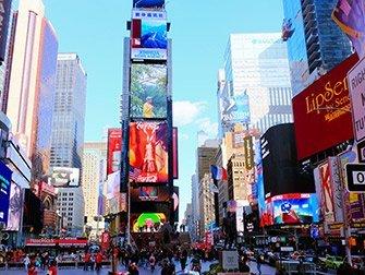 Visite Super-héros à New York - Times Square